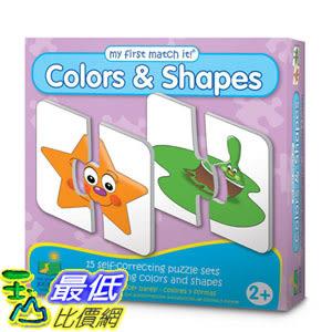 [106美國直購] 學習之旅 The Learning Journey My First Match It Colors and Shapes