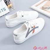 小白鞋 小白鞋女鞋子2021年夏秋季新款百搭女式休閒平底板鞋女學生運動鞋 小天使 99免運