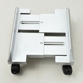 電腦台式主機架可移動散熱托架ABS塑料機箱架機箱底座主機架wy 快速出貨
