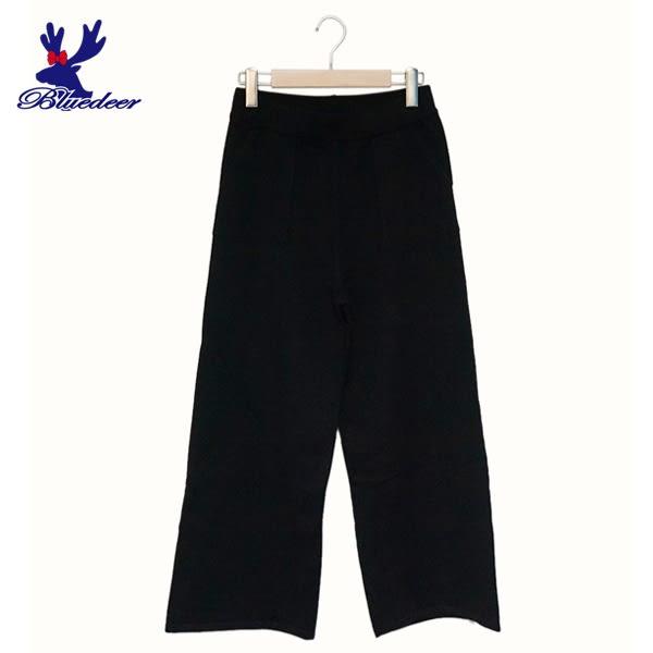 American Bluedeer-百搭針織寬褲(魅力價)