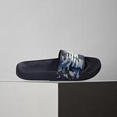 New Balance 男女鞋 藍 迷彩 拖鞋 SMF200CA