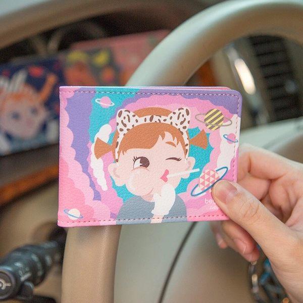 名片夾-可愛卡片夾/證件套/悠遊卡夾-共4色-B290018-FuFu