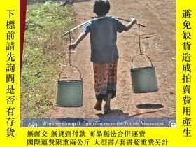 二手書博民逛書店Climate罕見Change 2007: Impacts Adaptation and Vulnerabilit