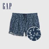 Gap女童 甜美風格荷葉邊鬆緊短褲 540061-印花