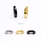 男生耳環 立體菱型鋼製耳針耳環【ND417】單支