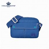 【COLORSMITH】CE.方型側背包・CE1006-A-BL