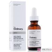 The Ordinary 100% Organic Cold-Pressed Rose Hip Seed Oil 100%有機冷榨玫瑰果籽油(30ml)【美麗購】