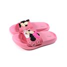 Disney 迪士尼 米奇&米妮 拖鞋 戶外 中童 童鞋 粉紅色 D121055 no034