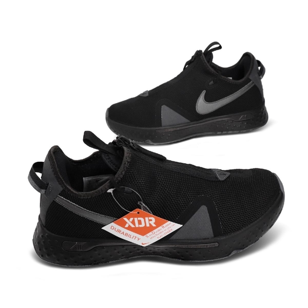 Nike 籃球鞋 PG 4 EP 黑 灰 男鞋 Paul George 保羅 喬治 拉鍊設計【ACS】 CD5082-005