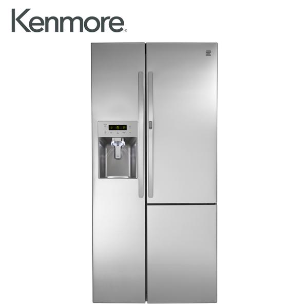 [Kenmore 楷模]739公升 對開門冰箱門外取冰取水口-不鏽鋼 51833
