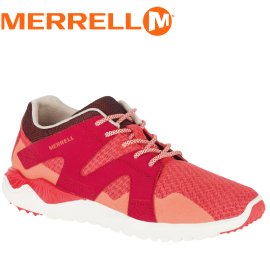【MERRELL 美國 女款 ISIX8 MESH 休閒鞋《橘/紅》】ML03274/休閒鞋/登山鞋/運動鞋★滿額送