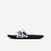 Nike Kawa Slide Se Jdi [CT6619-010] 中大童 女鞋 拖鞋 涼鞋 雨天 海邊 輕便 黑白