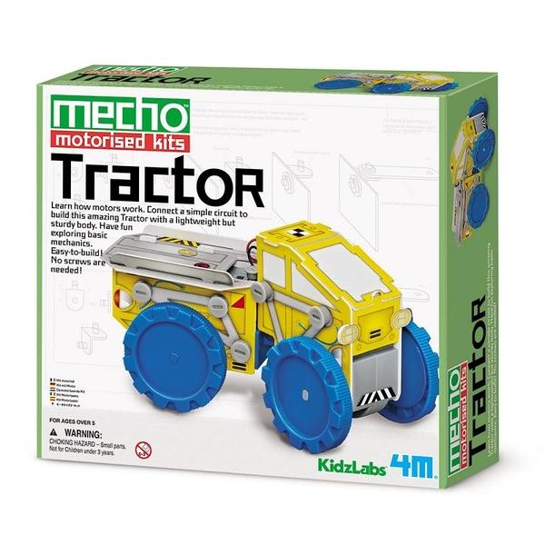 小小工程師 大力士拖車 Tractor 汽車界的海克力士