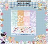 (現貨&樂園實拍) 東京迪士尼 達菲家族  HEARTWARMING DAYS  綿質 帕巾 / 方形毛巾