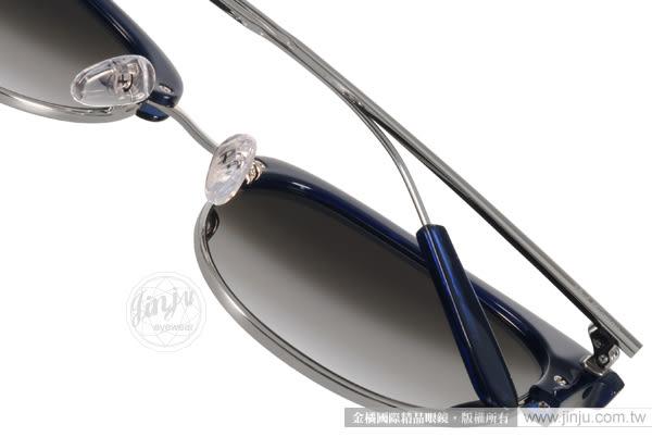PAUL HUEMAN 太陽眼鏡 PHS1070A C08 (藍) 韓系風造型眉框水銀鏡面款 # 金橘眼鏡