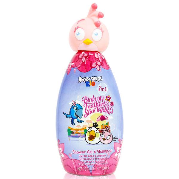Angry Birds 粉紅史黛西 2合1沐浴洗髮精 300ml