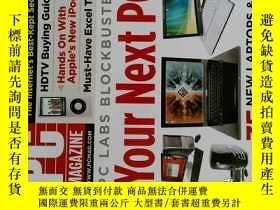 二手書博民逛書店PC罕見Magazine 2008年11月 英文個人電腦雜誌 可用樣板間道具雜誌Y14610