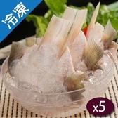 產銷活凍七星鱸魚下巴 500G/包X5【愛買冷凍】