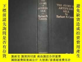 二手書博民逛書店the罕見story of artificial silkY18