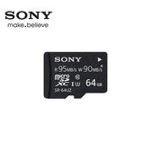 SONY 64GB Mirco SDXC UHS-1 C10U3記憶卡附轉卡 (SR-UZA)