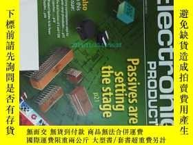 二手書博民逛書店Electronic罕見Products Magazine 電子