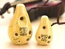 【夏日閒情色釉對笛】【Z6S-2】【高音C調+F調】【陶笛】【禾豐窯工廠製造】【純手工繪製】