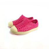 小童 Native JEFFERSON MARBLED 防水洞洞懶人休閒鞋《7+1童鞋》6045 桃色