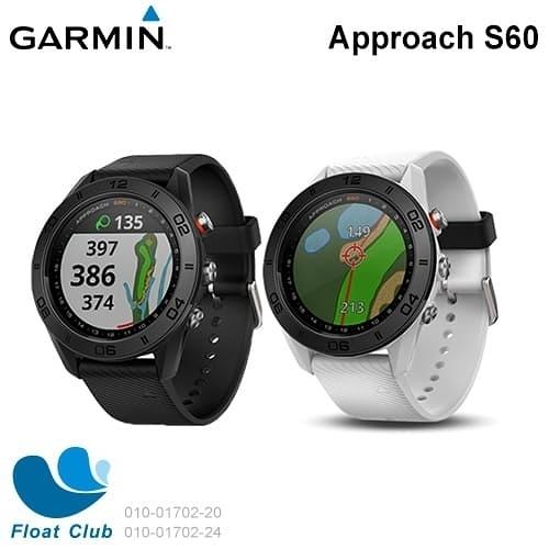 GARMIN 高爾夫 Approach S60高爾夫球 GPS腕錶(限宅配)矽膠錶帶 010-01702 原價12990元