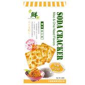 食鮮然豐味蘇打餅-味噌奇亞籽180g【愛買】