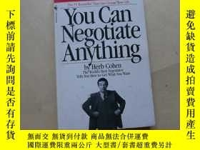 二手書博民逛書店You罕見Can Negotiate Anything : The World s Best Negotiator