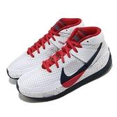 Nike KD13 EP USA 籃球鞋 白 藍 黑 男鞋 美國隊 杜蘭特 Kevin Durant 【ACS】 CI9949-101