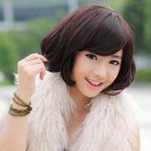 假髮(短髮)-成熟個性時尚斜瀏海女配件3色73fi20【時尚巴黎】