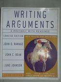 【書寶二手書T8/原文書_ZDF】Writing Arguments3/e_Ramage, John D