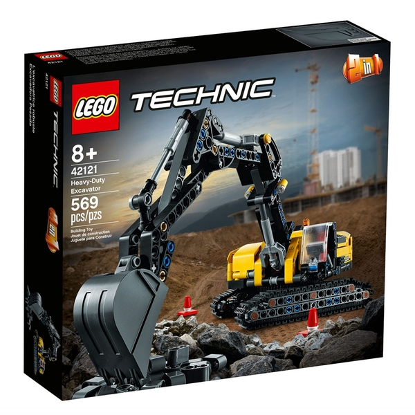 LEGO樂高 Technic系列 重型挖土機_LG42121