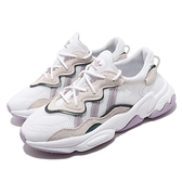 adidas 休閒鞋 Ozweego W 白 紫 女鞋 水原希子 老爹鞋 【ACS】 EG9204