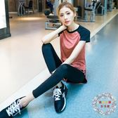 新品瑜伽服套裝女 全館免運春夏健身服女運動健身房套裝全館免運