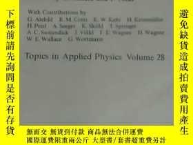 二手書博民逛書店Hydrogen罕見in Metals I(金屬中的氫 第一-二