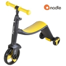 【預購-9月中到貨】Nadle 三合一多功能三輪滑步車/滑板車/三輪車 -黃