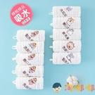 5條裝 嬰兒口水巾寶寶紗巾兒童洗臉小方巾...