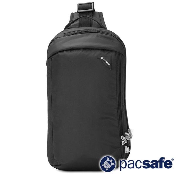 【Pacsafe】Vibe 325 防盜斜背包 10L『亮黑色』60221-130 防盜 旅遊 出國 度假