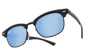RayBan 兒童太陽眼鏡 RJ9050S 100S55 (黑) 經典復古眉框藍水銀款 # 金橘眼鏡