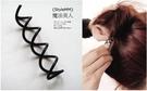 【TwinS伯澄】神奇美髮螺旋髮叉髮簪 盤髮超級小利器