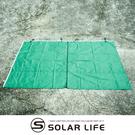 索樂生活 SOLAR彈開式炊事帳篷二代專用-塗銀布門.防水遮陽圍布 炊事帳延伸布 帳篷防水邊布