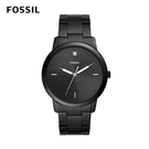 Fossil MINIMALIST 黑色簡約不鏽鋼鍊錶 男/女 FS5455