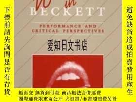 二手書博民逛書店【罕見】Women In Beckett: Performance And Critical Perspectiv