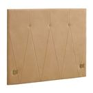 【森可家居】凱妮5尺床頭片(米黃色布)(不含床底) 8CM669-16 雙人