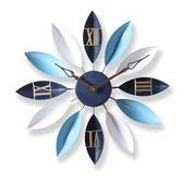 家用歐式客廳創意時尚藝術靜音臥室掛鐘LVV3930【KIKIKOKO】TW