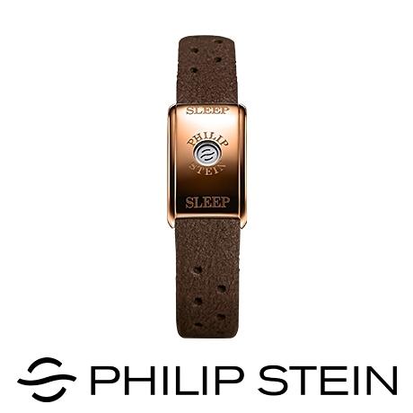 【南紡購物中心】【Philip Stein】翡麗詩丹睡眠手環 - 經典咖