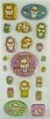 【震撼精品百貨】CorocoroKuririn 可樂鈴天竺鼠~微硬立體閃亮貼紙
