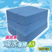 【VICTORY】高效率吸水海綿-大(6入) #1030013